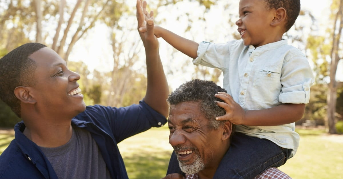 A powerful prayer for grandparents: