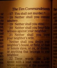 10 Commandments - Complete Bible List and Meaning