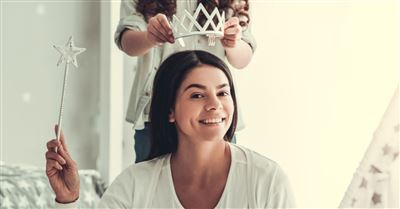 4. Treat her like a queen—literally.