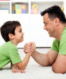 How to End Battles with a Powerful Child
