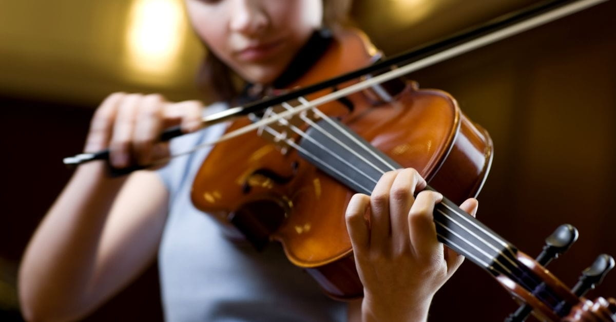 Teaching Kids to Play Second Fiddle