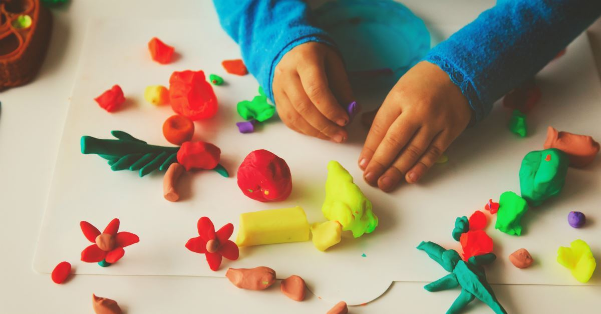 7. Make Play-Doh come to life.