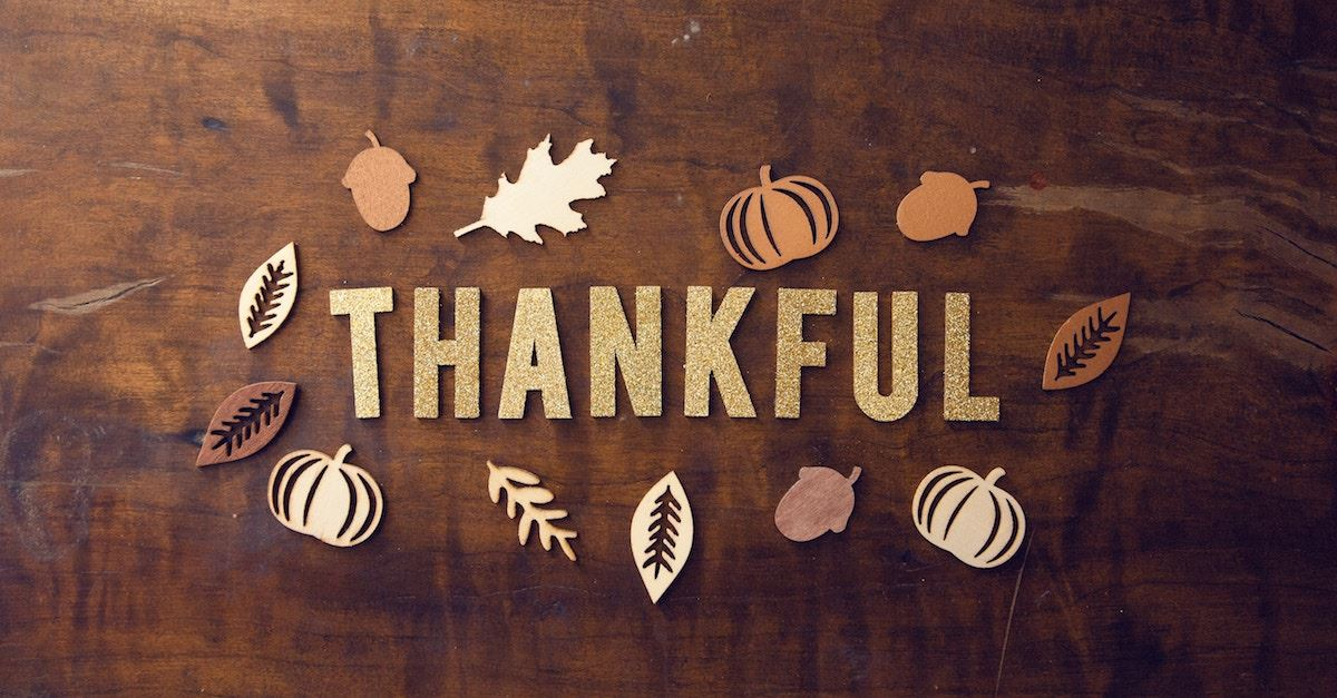 thankful spelled out, thanksgiving