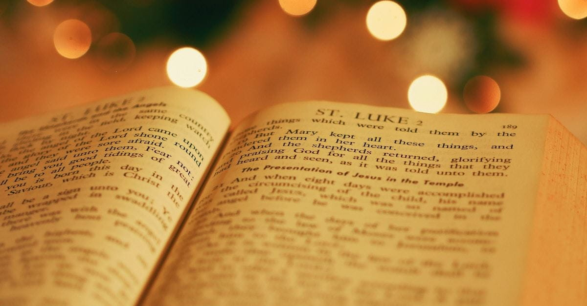 gospel of Luke, advent readings