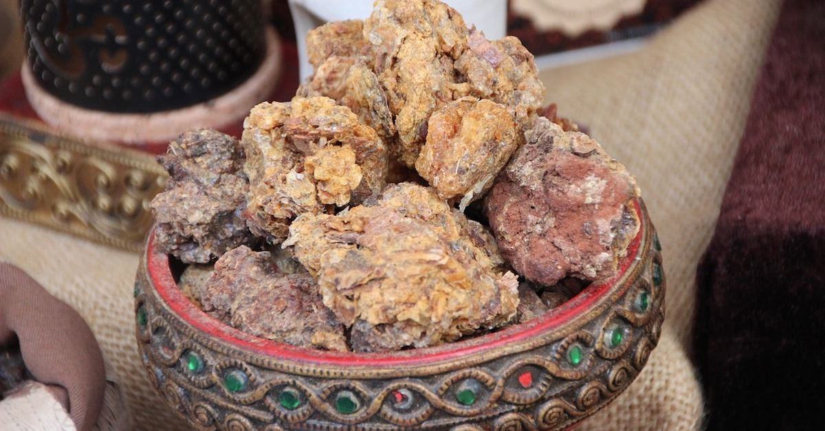 myrrh, gold frankincense and myrrh