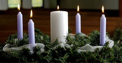 7. Participate in Advent Candle Lighting.