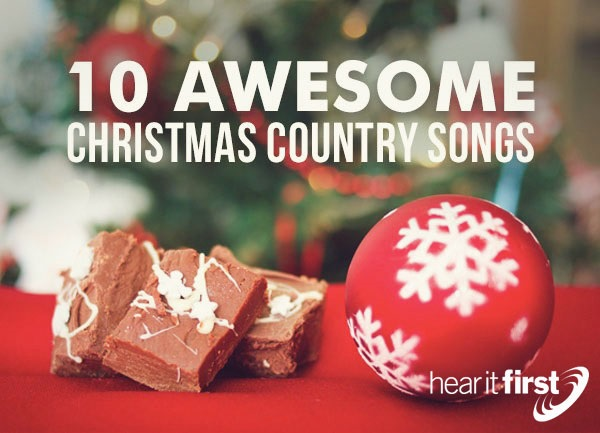 10 Awesome Christmas Country Songs