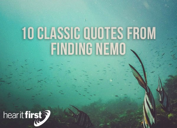 Finding Nemo Quotes 10 Classic Quotes From Finding Nemo Finding Nemo Quotes