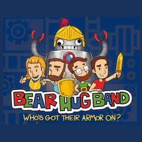 Children's christian music label Super Big Robot releasing Who's Got Their Armor On? From Bear Hug Band Oct 2