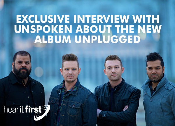 Exclusive Interview with Unspoken About The New Album Unplugged