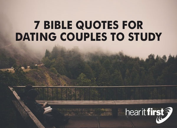bible scriptures for dating couples