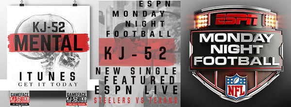 New single by KJ-52, TONIGHT, launches as theme song for ESPN's Monday Night Football