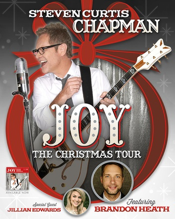 Steven Curtis Chapman Announces JOY: THE CHRISTMAS TOUR