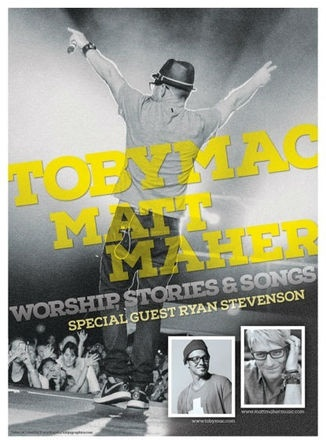 """Five-Time GRAMMY® Winner TobyMac Announces  """"Worship, Stories & Songs Tour"""" with Matt Maher  for Fall 2014"""