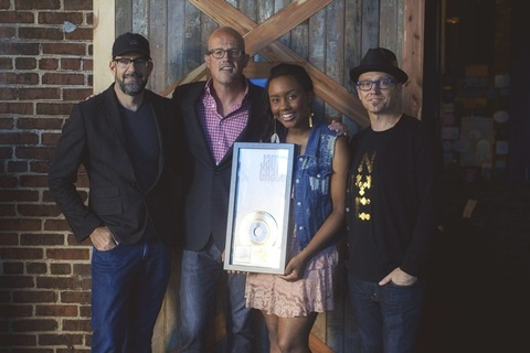 "Jamie Grace's ""Hold Me (feat. TobyMac)"" Receives RIAA Gold Certification with 500,000 Singles Sold"