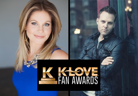 Dancing With the Stars® Finalist Candace Cameron Bure and Award Winning Matthew West to Host K-LOVE Fan Awards at Grand Ole Opry House on June 1