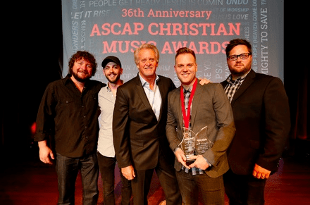 Matthew West Honored With the Songwriter and Song Of The Year Awards at the 36th Annual ASCAP Christian Music Awards
