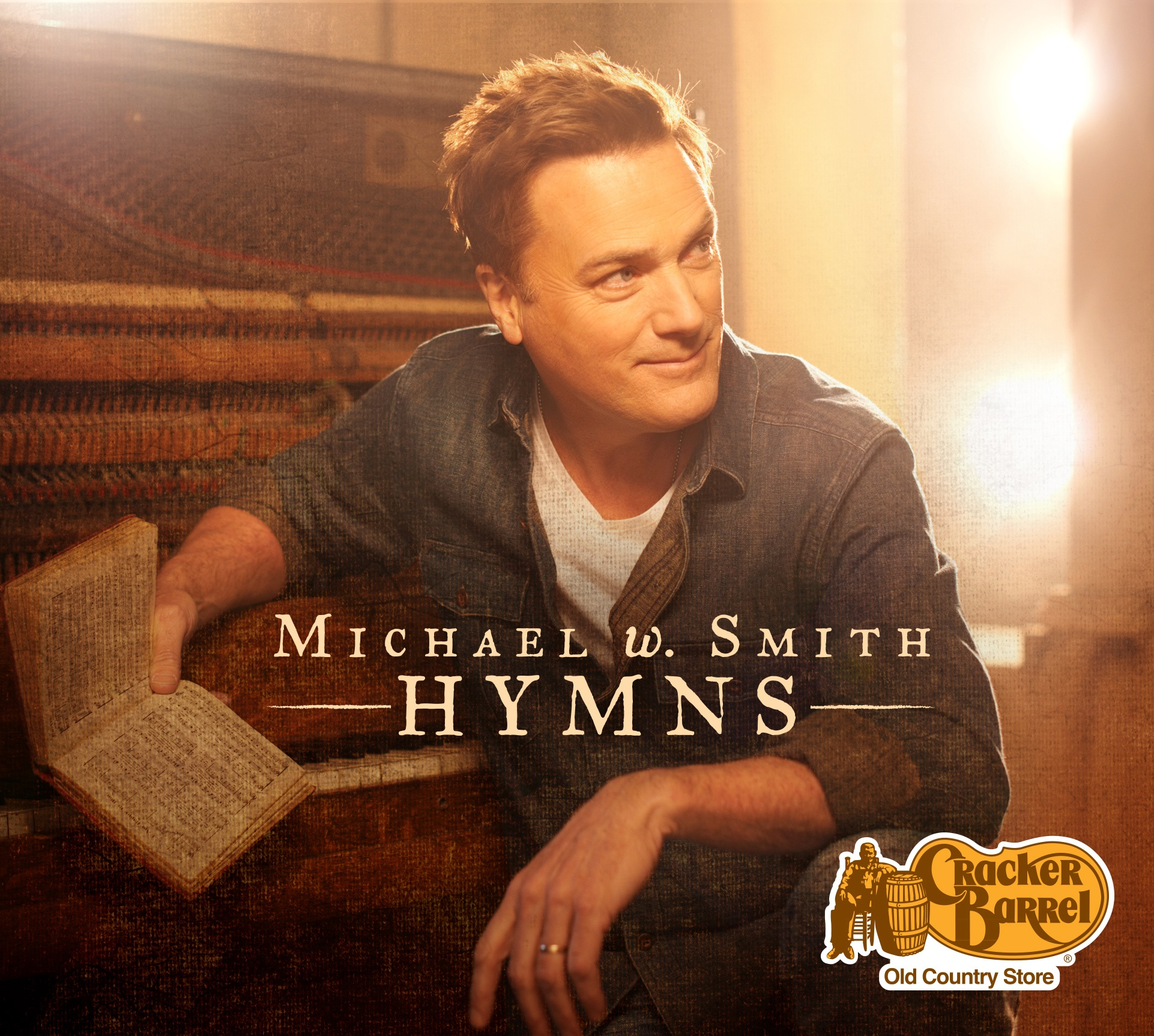"""Michael W. Smith and Cracker Barrel Old Country Store® Announce Exclusive Album """"Hymns"""" Out March 24"""