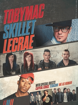 TobyMac, Skillet and LeCrae Join Forces to Thrill Crowds on Summer Shed Tour