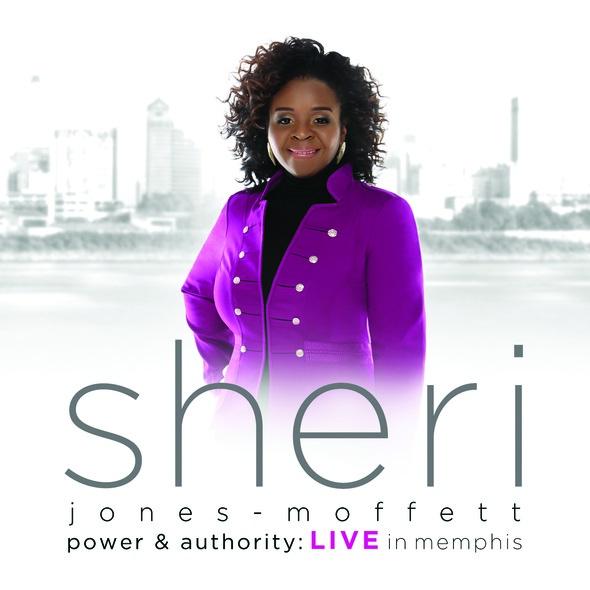 """Motown Gospel's Grammy Nominated Recording Artist Sheri Jones-Moffett Releases Long-Awaited New Album """"Power & Authority"""" on April 1st"""