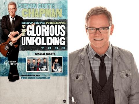 "Steven Curtis Chapman Announces ""The Glorious Unfolding Tour"" Presented by Show Hope"