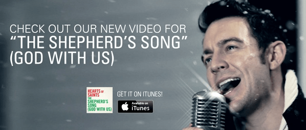 """Hearts Of Saints Releases Music Video for Christmas Single """"The Shepherd's Song (God With Us)"""""""