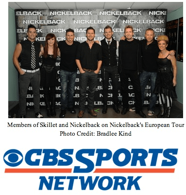 "CBS Sports Picks Up Skillet's ""RISE"""
