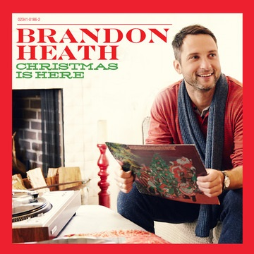 Brandon Heath Announces Debut Holiday Album, Christmas Is Here, October 15