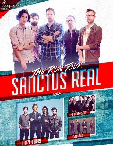 """Sanctus Real Hits The Road This Fall Headlining """"The Run Tour"""""""