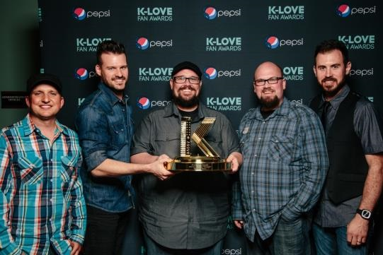 """BIG DADDY WEAVE'S """"REDEEMED"""" TAKES HOME  SONG OF THE YEAR AT THE K-LOVE FAN AWARDS"""