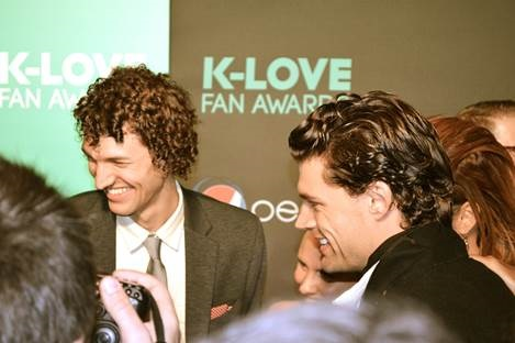 FOR KING & COUNTRY IS NAMED BREAKTHROUGH ARTIST OF THE YEAR AT THE FIRST-EVER K-LOVE FAN AWARDS