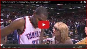 Kevin Durant: Faith, Bio and Quotes