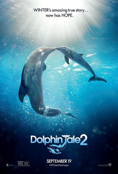 Dolphin Tale 2 - Video and Movie Poster