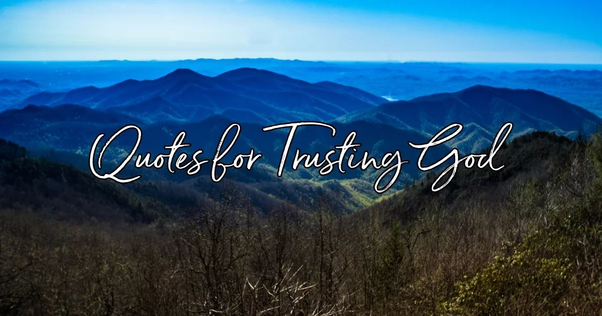 Trust God Quotes 20 Best Quotes about Trusting God Trust God Quotes