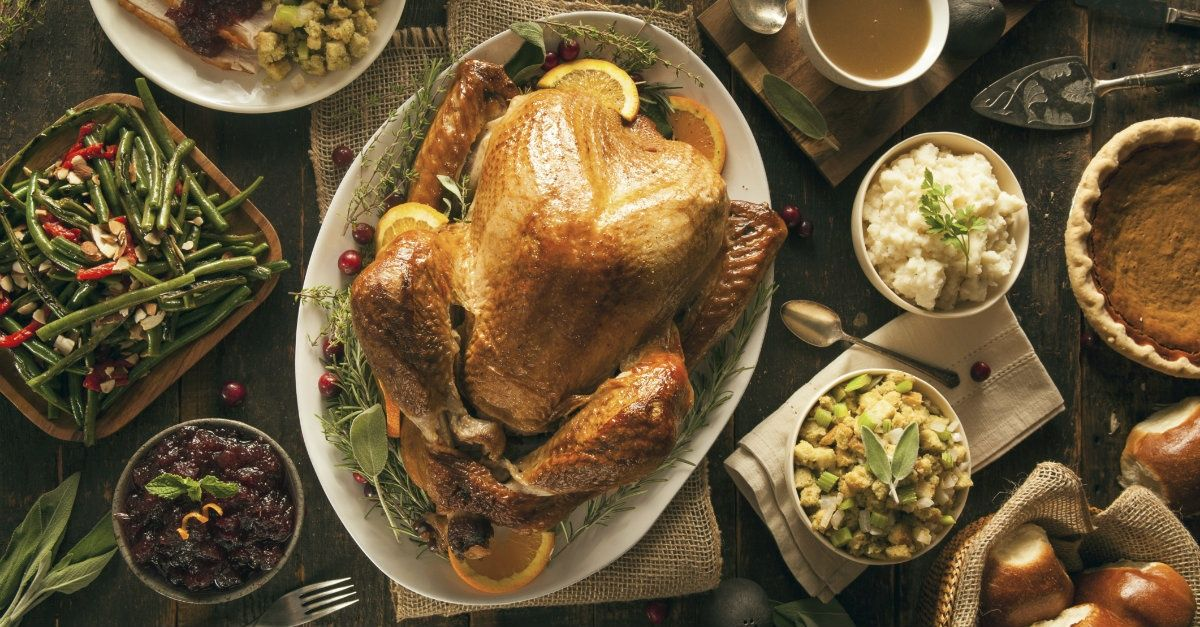 Why it's Okay to Feast on Thanksgiving