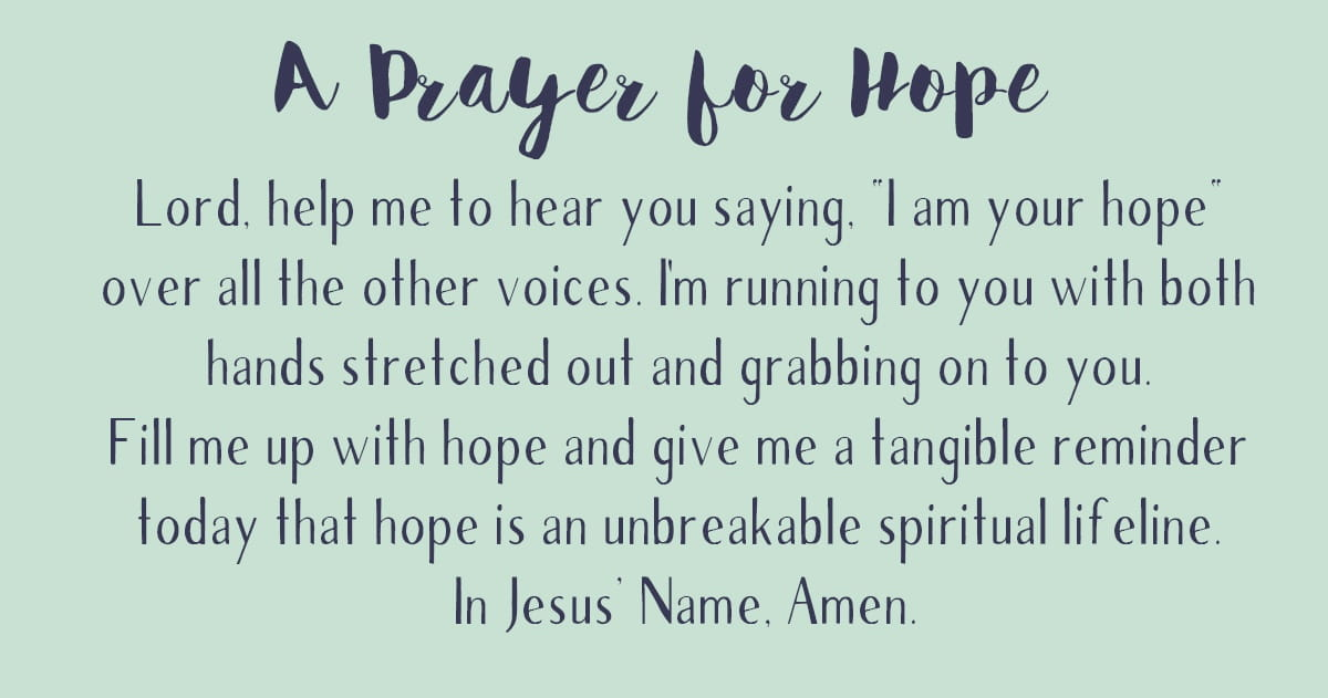 Image result for prayer for hope