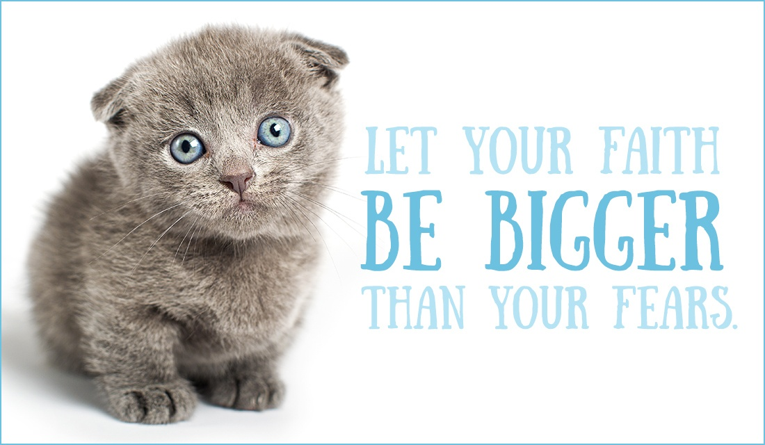 Let Your Faith be Bigger Than Your Fear  ecard, online card