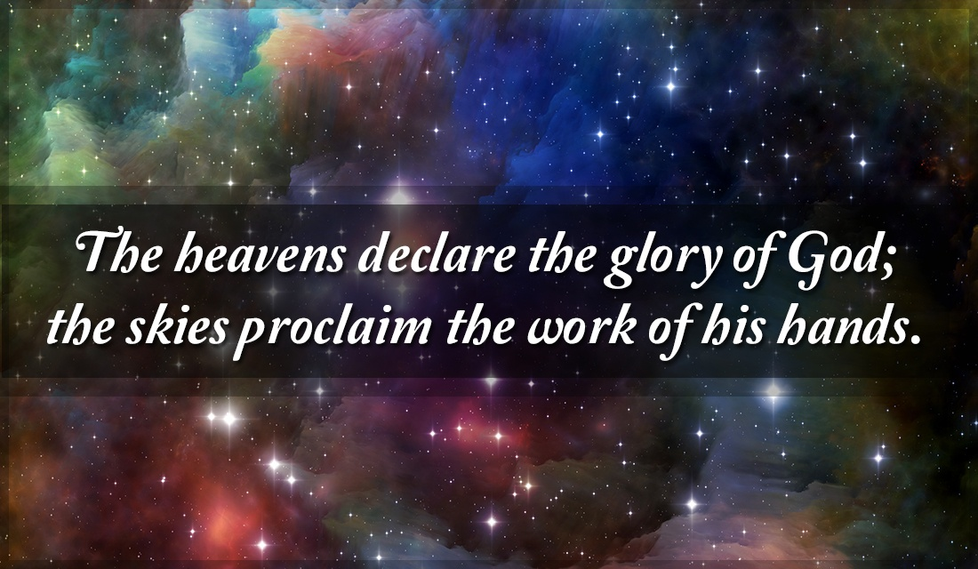 The Heavens Declare the Glory of God ecard, online card