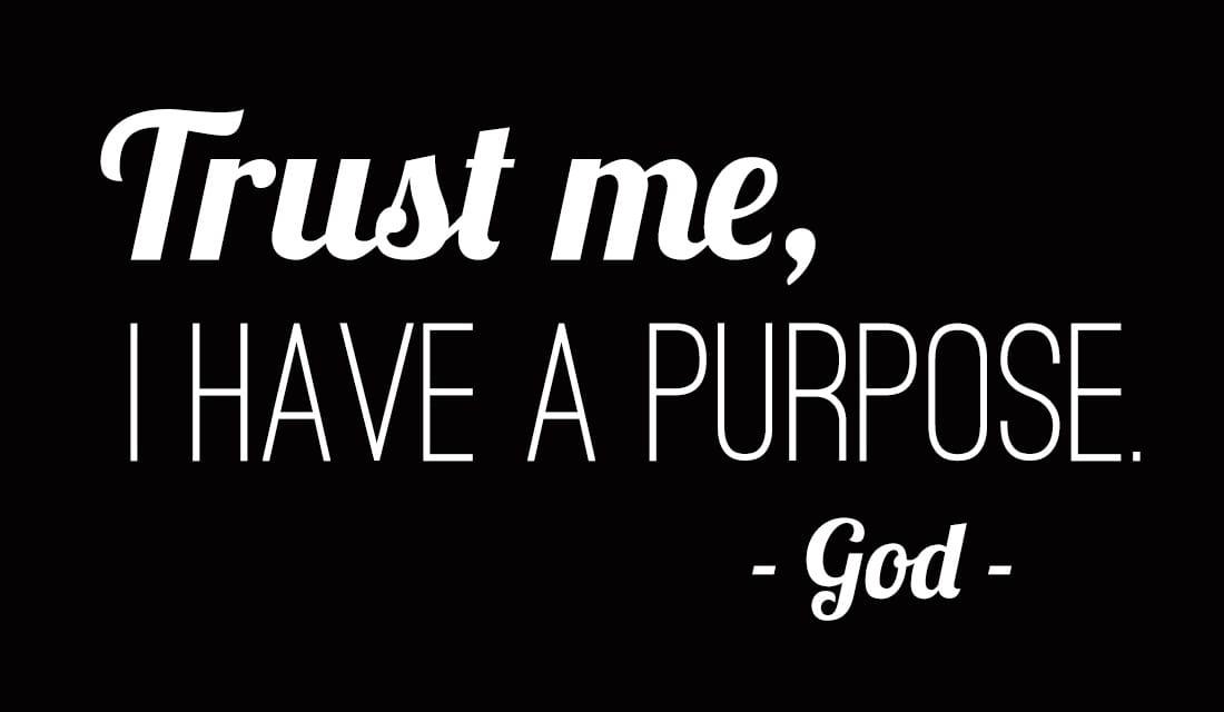 Trust God's Purpose ecard, online card
