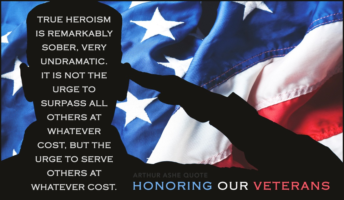 Honoring Our Veterans  ecard, online card