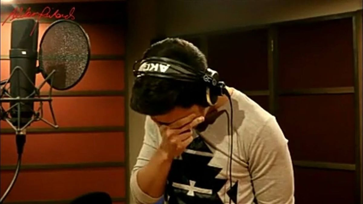 'God Gave Me You' – Singer Tears Up During Emotional Song