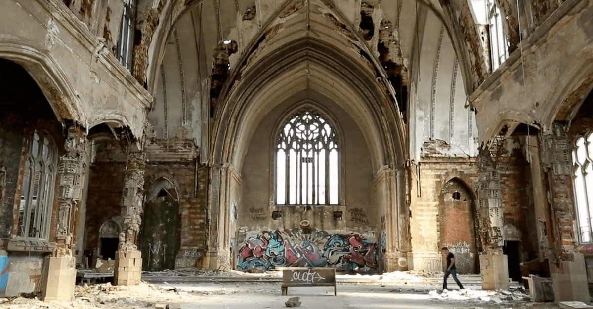 The Crumbling of the Church