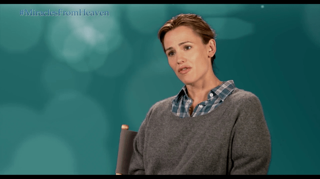 'Miracles from Heaven' - Jennifer Garner Tells The Story Behind The Movie