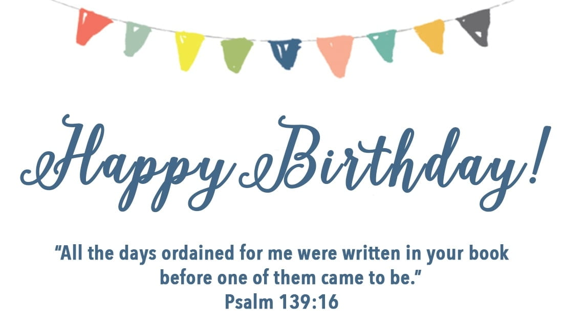 Free Happy Birthday Psalm 139 Ecard Email Free Personalized