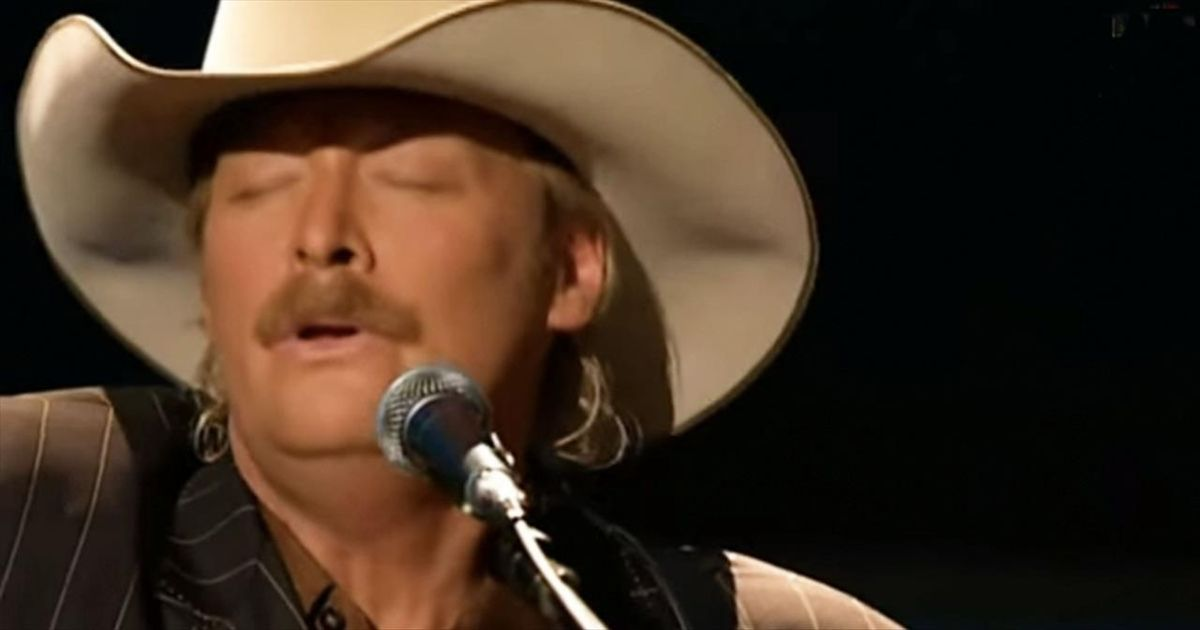 When Alan Jackson Sings The Old Rugged Cross I Can T