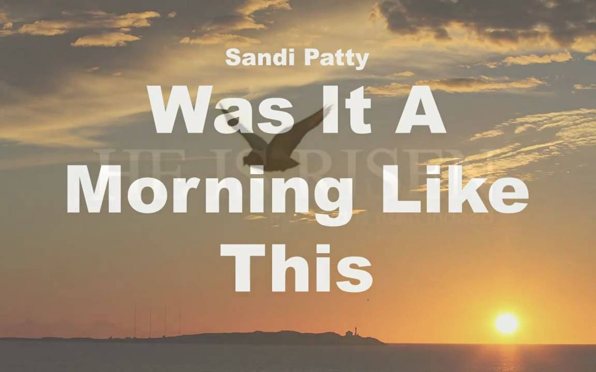 This Easter Song From Sandi Patty Will Get Your Heart Ready to Worship!