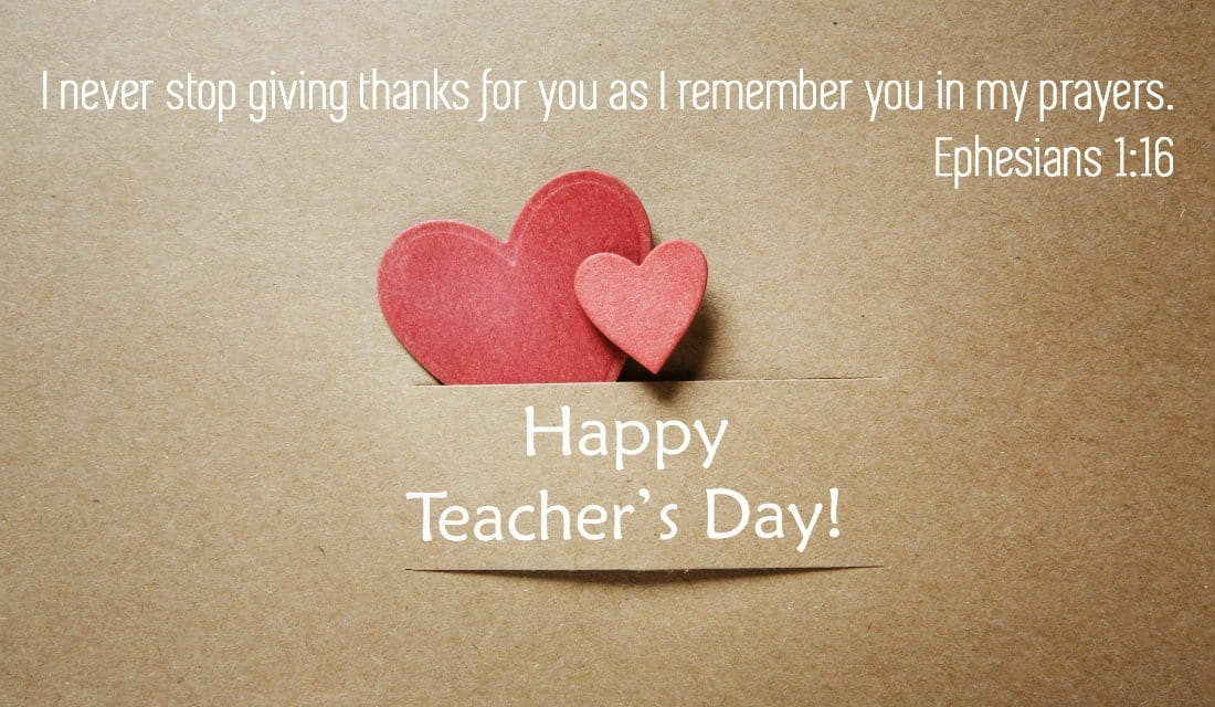 Happy Teachers' Day!  ecard, online card