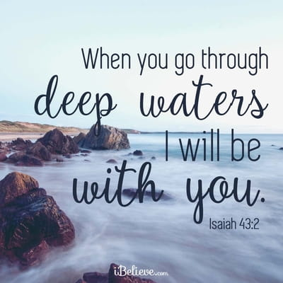 Your Daily Verse - Isaiah 43:2