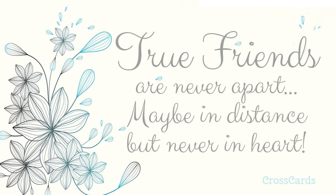 True Friends ecard, online card