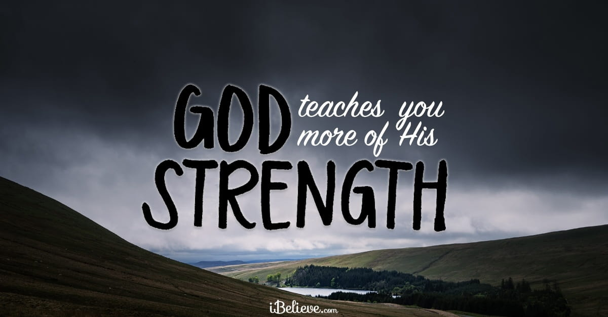 A Prayer for Strength and Encouragement - Your Daily Prayer - December 13, 2017